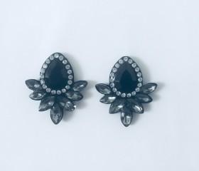 Rhinestone Black